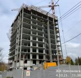 Ход строительства дома № 6 в ЖК Циолковский -