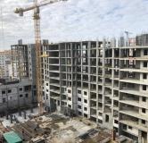 Ход строительства дома № 2 в ЖК Облака -