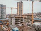 Ход строительства дома Секция 1 в ЖК Гвардейский 3.0 - фото 26, Январь 2021