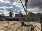 Ход строительства дома № 1 в ЖК Удачный 2 - фото 154, Октябрь 2018