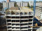 Ход строительства дома Литер 1 в ЖК Звезда Столицы - фото 112, Август 2018