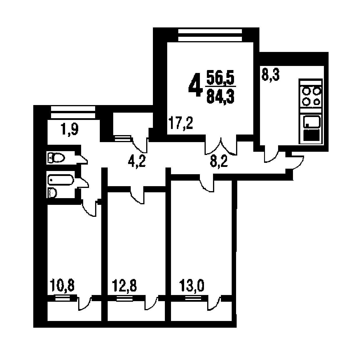 Топ-10 неудачных планировок квартир в новостройках - фото 3