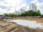 ЖД Жемчужный - ход строительства, фото 26, Июнь 2021