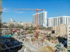 Ход строительства дома Секция 1 в ЖК Гвардейский 3.0 - фото 14, Май 2021