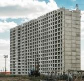 Ход строительства дома № 1 в ЖК Инстеп. Свиридова -