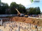 Ход строительства дома № 1 в ЖК Клевер - фото 115, Август 2018
