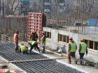 Ход строительства дома № 1 в ЖК Дворянский - фото 91, Март 2016