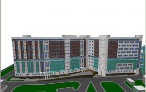 Новый корпус Центральной городской больницы №1 им. Семашко