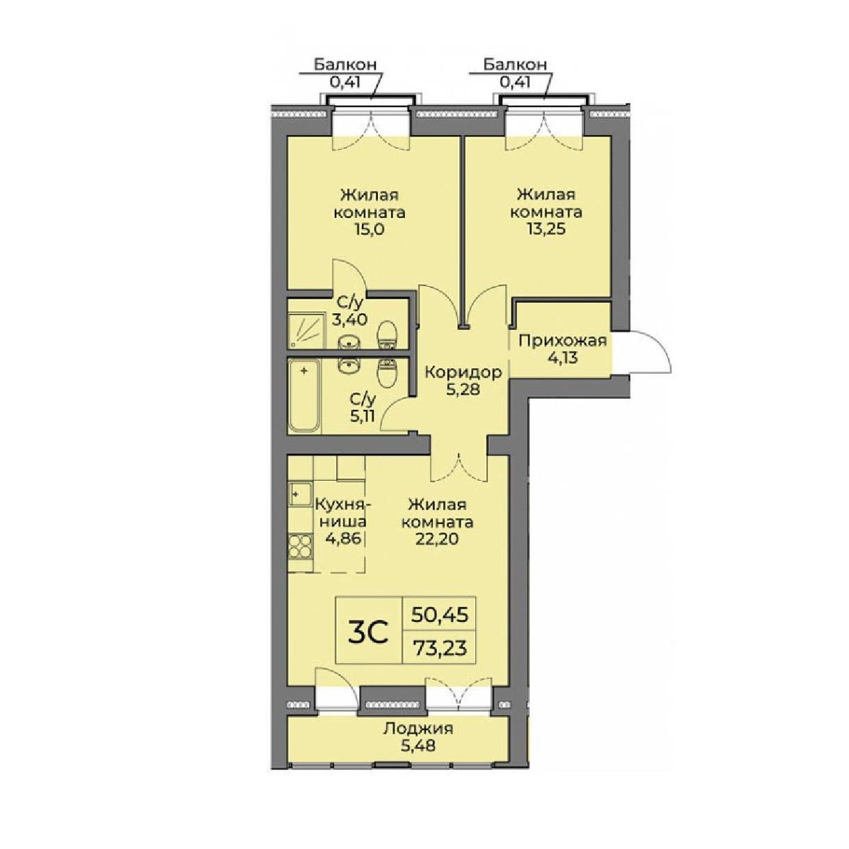 Топ-10 неудачных планировок квартир в новостройках - фото 4