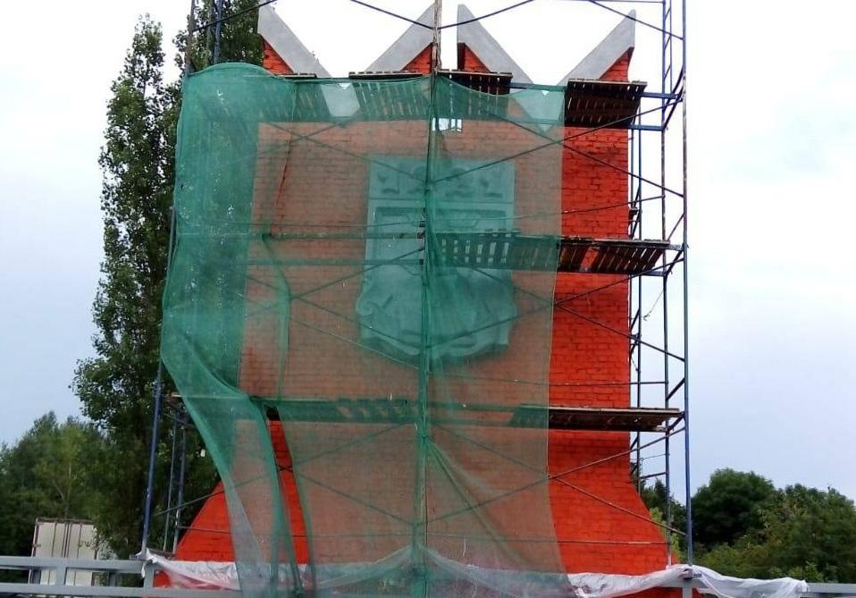 Ремонт стелы на въезде в Нижний Новгород со стороны Богородска завершат к августу