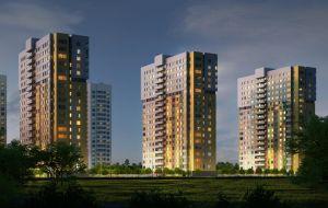 Жилой комплекс (ЖК) «Подкова на Цветочной» в Нижнем Новгороде