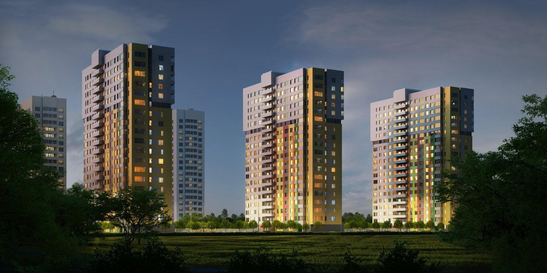 Жилой комплекс (ЖК) «Подкова на Цветочной» в Нижнем Новгороде - фото 1