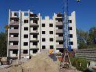 Ход строительства дома Секция 3 в ЖК Сиреневый квартал - фото 54, Август 2019