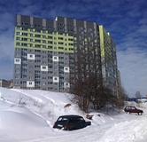 Ход строительства дома № 3 (по генплану) в ЖК На Вятской -