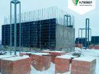 Ход строительства дома № 1 в ЖК Клевер - фото 83, Январь 2019