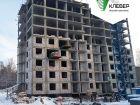 Ход строительства дома № 1 в ЖК Клевер - фото 90, Декабрь 2018