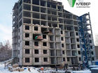 Ход строительства дома № 2 в ЖК Клевер - фото 90, Декабрь 2018