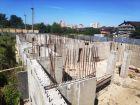 Ход строительства дома № 38 в ЖК Три Сквера (3 Сквера) - фото 54, Сентябрь 2020